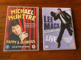 Michael McIntyre & Lee Mack Going Out Live Stand Up Comedy Dvds JobLot Bundle