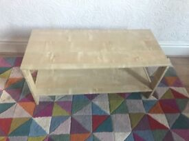 Laiva TV stand / coffee table - birch effect