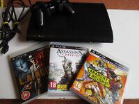 Playstation 3 Super Slim 500GB Console + Controller & Games