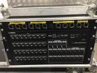 Yamaha Rio 3224-d stage rack. 32 analogue inputs, 16 analogue outputs and 8 digital outputs.