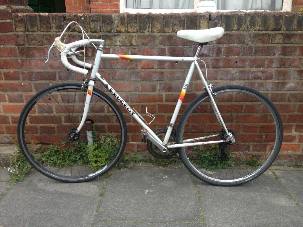 peugeot bike road 1980s 58cm mens bicycles london