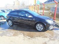 vauxhall astra 1.9 cdti sxi 3dr 2008 model in black,some service history