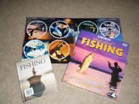 Mad About Fishing 8 DVD Box Set plus a Fishing Encyclopedia