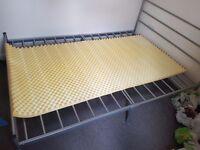 Memory mattress foam topper