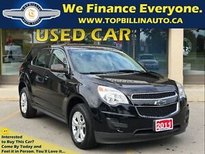 2011 Chevrolet Equinox 1 Owner, 2 Years Warranty, Low Payments