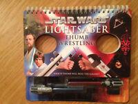 Star Wars Lightsaber Thumb Wrestling book by Pablo Hidalgo - as new & unused - Didsbury Area