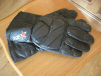 Pair of Leather RST Motorbike Gloves.