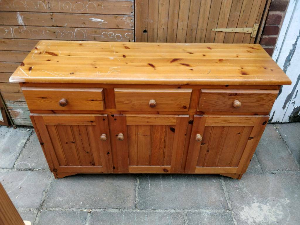 50 pine sideboard dresser farmhouse shabby chic project | in Exeter ...