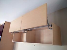 Wall mountable storage cupboards x 2 for living room/ bedroom/ office