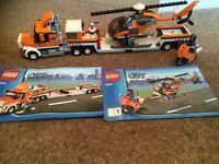LEGO City 7686 Helicopter Transporter