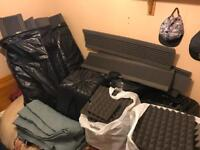 Acoustic foam tiles & bass traps