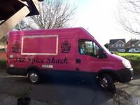 Catering van, curry van, burger van Chinese van, fish and chip van for sale