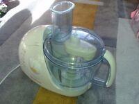 Moulinex food processor ovatio 3 duo press