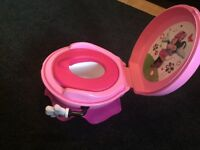 Excellent Condition Minnie Mouse Pink (Toilet) Potty