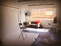 Shared photographer's studio space in Hackney Wick. 5 min walk from station!
