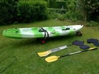 """Sit on 2+1 fishing kayak """"ocean ranger II"""""""