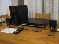 LG cd/dvd/radio player with virtual surround sound( connects to TV )