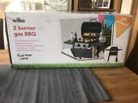 Wilko 2 burner gas BBQ - Brand new