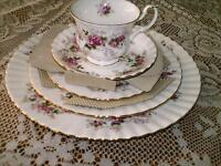 Royal Albert - Lavender Rose Pattern  Dishes