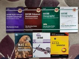 GCSE Revision Guides and Workbooks (WJEC, Eduqas, Edexcel, AQA)