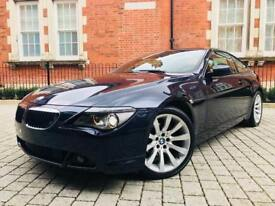 2007 BMW 6 Series 3.0 630i Sport Auto 2dr ** 2 OWNERS** HUGE SPEC** GREAT COLOUR COMBO** 645