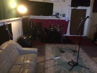 Private Rehearsal room available.