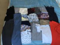 Bundle Of 22 women's clothing. Size 14 and 16, TU, Next, M&S, Top Shop