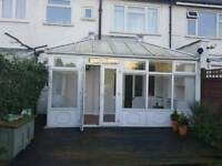 Conservatory UPVC and double glazed