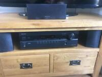 Onkyo cinema receiver with 5.1 speakers
