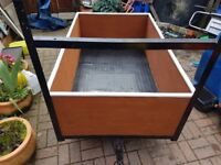5ft x 3ft x 1.5ft trailer good condition.