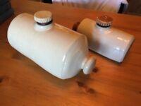 Hot Water Bottles - Vintage Stoneware Glazed