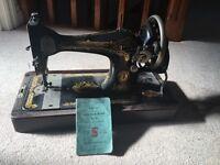 Singer sewing machine. Number 28