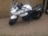 Yamaha XJ6 Diversion White 600cc Very Low Milage, Led Lights, 1 Owner No gsxr r6 r1 cbr