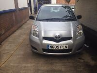 YARIS 2009 FULL SERV , one owner hpi clear , as golf,polo,clio,astra, swift,