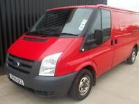 2011 (60) Ford Transit 2.2TDCi 330 MWB Panel Van Twin Side Loading Doors, NO VAT May Px,Service Hist
