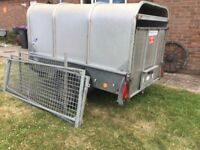 Ifor Williams Stock Trailer P6E With Canopy And gates