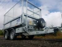 IFOR WILLIAMS TRAILER TT2515 TT85 TIPPER BOX TIPPING BUILDER LANDSCAPE GARDENER