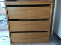 Habitat drawer unit / module beech