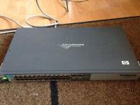 HP ProCurve 2510-24 J9019B - 24 Port - L2 Managed Ethernet Network Switch
