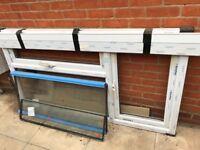 1x Duraflex uPVC Window frame and double glazing 1800x970mm