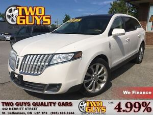 2011 Lincoln MKT ECOBOOST DVD NAV LEATHER PANOROOF AWD