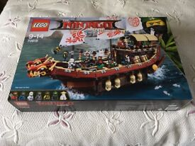 LEGO 70618 Ninjago Movie Destiny's Bounty – New (Collect Only)