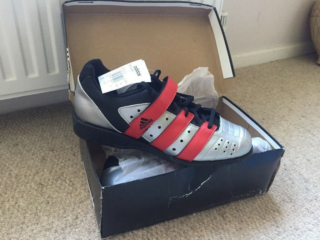 de25d09e8b7 New Vintage Adidas Ironwork II Weightlifting shoes size 9