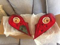 Vauxhall Corsa D Rear lights