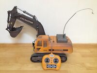 Hobby remote control excavator