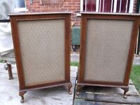 DYNATRON LS-2504 VINTAGE GOODMANS SPEAKERS.