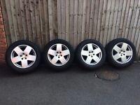 Tyres with alloys: Goodyear Wrangler 255/55 R19