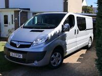 Vauxhall Vivaro LWB Campervan. 52000 miles. Newly Converted