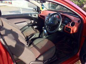Ford fiesta 1.4 tdci tango red 3drs