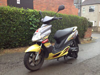 YAMAHA 2007 50cc JOG RR | MOPED SCOOTER | FOR SALE £700 ONO